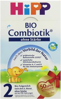 HiPP Bio Folgemilch 2 Combiotik ohne Stärke 600 g