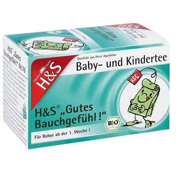 H&S Bio Gutes Bauchgefühl Baby- und Kindertee (20 Stk.)