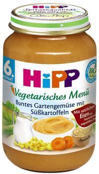 Hipp Vegetarisches Menü Buntes Gartengemüse mit Süßkartoffeln (190 g)