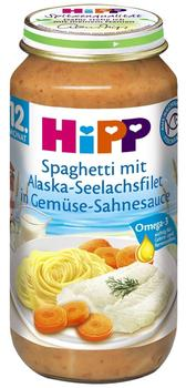 Hipp Spaghetti mit Alaska-Seelachsfilet in Gemüse-Sahnesauce (250 g)