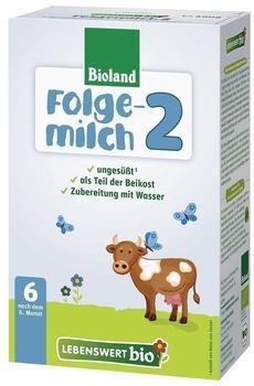 Lebenswert Bio Folgemilch 2 (500 g)