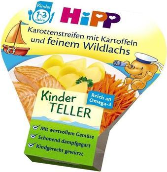 Hipp Kinder-Bio-Teller Karotten mit Kartoffeln und feinem Lachs (250 g)