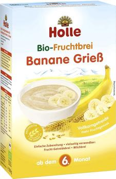 Holle Bio-Fruchtbrei Banane Grieß (250g)