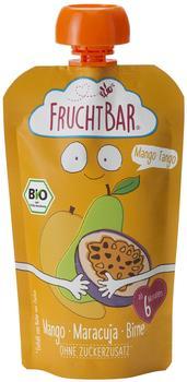 Frucht Bar Bio Fruchtpüree Mango Tango Mango-Birne-Maracuja (120 g)
