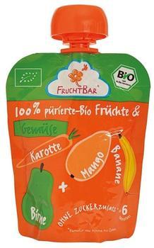 Frucht Bar Bio Fruchtpüree Mango Karotte (90 ml)