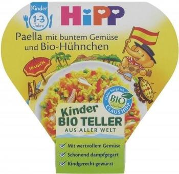 Hipp Kinderteller Paella mit buntem Gemüse und Hühnchen (250 g)