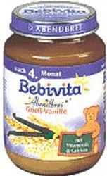 Bebivita Abendbrei Grieß-Vanille (190 g)