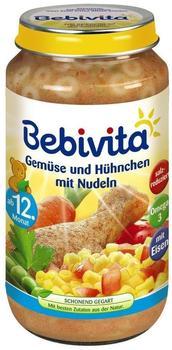 Bebivita Gemüse und Hühnchen mit Nudeln 250 g