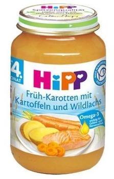 HiPP Bio Früh-Karotten mit Kartoffeln und Wildlachs 190 g