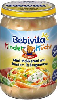 Bebivita Kinder-Küche Mini-Makkaroni mit buntem Rahmgemüse (250g)