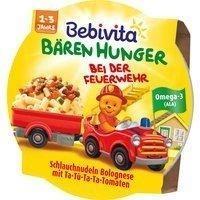 Bebivita Bären Hunger Schlauchnudeln Bolognese 250g