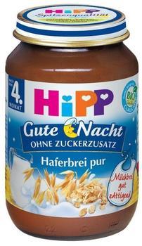 Hipp Gute Nacht Haferbrei pur (190 g)