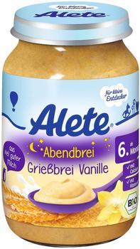 Alete Abendbrei Grießbrei Vanille (190g)