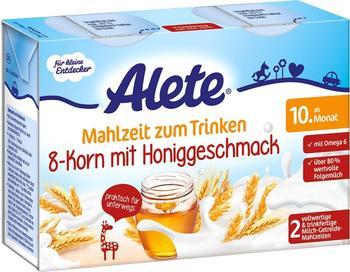 Alete Mahlzeit zum Trinken 8-Korn mit Honiggeschmack (400 ml)
