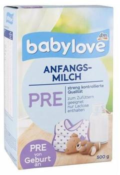 Babylove Anfangsmilch Pre 500 g