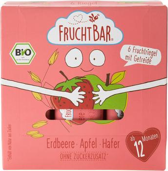 Frucht Bar Fruchtriegel mit Getreide Erdbeere Apfel Hafer ab 12 Monaten 6x23g