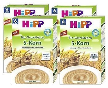 Hipp Bio-Getreidebrei 5-Korn (250g)