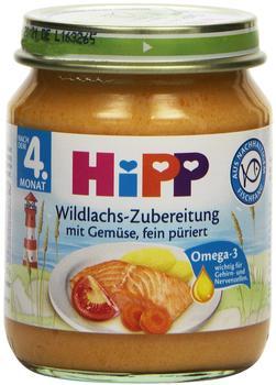 Hipp Wildlachs-Zubereitung mit Gemüse (125 g)