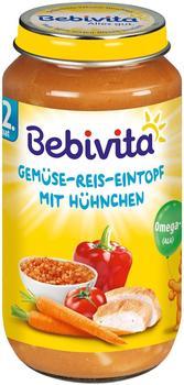Bebivita Herzhafter Gemüse-Reis-Eintopf mit Hühnchen (250 g)