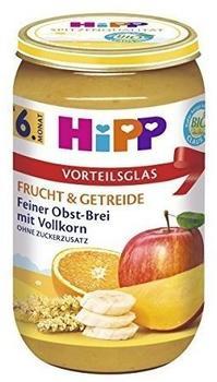 HiPP Feiner Obst-Brei mit Vollkorn (6 x 250 g)