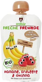 erdbär Freche Freunde Quetschmus Banane, Erdbeere und Quinoa (6 x 100 g)