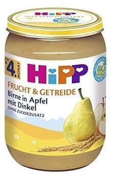HiPP Birne in Apfel mit Dinkel (6 x 190 g)