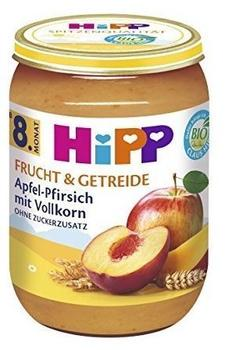 HiPP Apfel-Pfirsich mit Vollkorn (6 x 190 g)