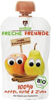 erdbär Freche Freunde Quetschmus Apfel, Birne und Zimt (6 x 100 g)