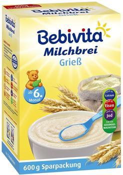 Bebivita Milchbrei Grieß (4 x 600 g)