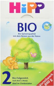 HiPP Bio 2 Folgemilch (4 x 800g)
