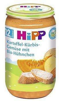 HiPP Bio Kartoffel-Kürbis-Gemüse mit Bio-Hühnchen 6 x 250 g