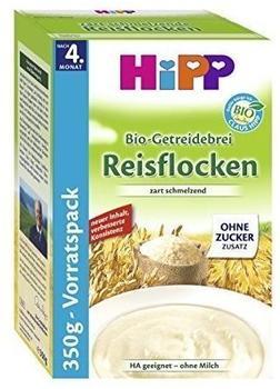 HiPP Bio-Getreidebrei Reisflocken 4 x 350 g