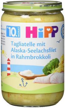 Hipp Tagliatelle mit Alaska-Seelachsfilet in Rahmbrokkoli 6 x 220g