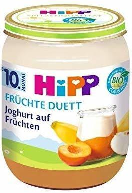 HiPP Bio Früchte-Duett Joghurt auf Früchten 160 g