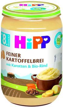 Hipp Feiner Kartoffelbrei mit Karotten und Bio-Rind 6 x 220g