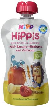 HiPP Bio HiPPis Apfel-Banane-Himbeere mit Vollkorn 6 x 90 g