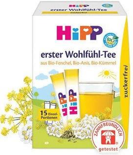 Hipp erster Wohlfühl-Tee (15 Port.)