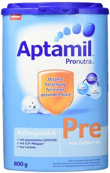 Milupa Pre Anfangsmilch mit Pronutra 800 g