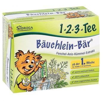 Sidroga 1-2-3-Tee Bäuchlein-Bär Instantgetränk