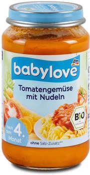 dm Babylove Tomaten-Gemüse mit Nudeln 190g