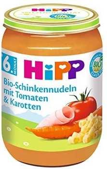 Hipp Bio-Schinkennudeln mit Tomaten & Karotten 190g