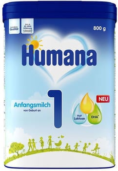 Humana Anfangsmilch 1 Pulver (800g)
