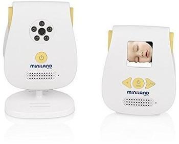 Miniland DECT-Babyphone mit Kamera - Digital Video 1.4