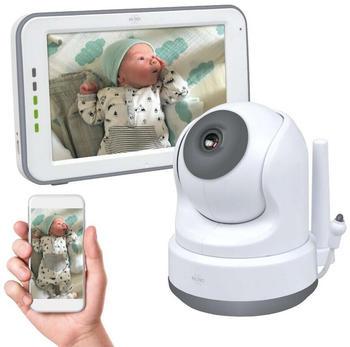 elro-baby-monitor-royale-hd-babyfon-mit-12-7-cm-touchscreen-und-app-bc3000
