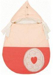 Candide Schlafsack für Babyschale Bebe Traditionell braun/beige