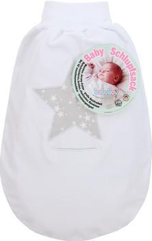 Babybay Schlupfsack Stern Groß pearlgrau