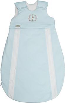 Odenwälder BabyNest prima klima Jersey-Schlafsack hellblau