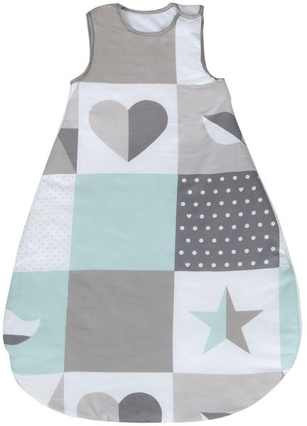 Roba Schlafsack Happy Patch mint 90 cm