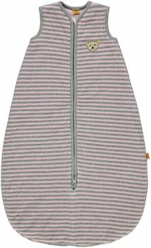 steiff-girls-schlafsack-nicky-rosa-grau-70-cm