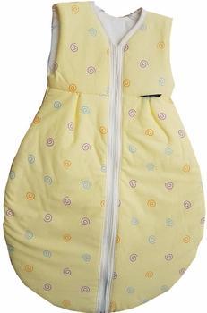 ALVI Kugelschlafsack Mäxchen Thermo Kringel gelb 70 cm